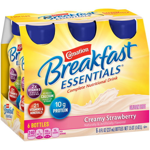 Carnation Breakfast Essentials Oral Supplement Nestle Healthcare Nutrition