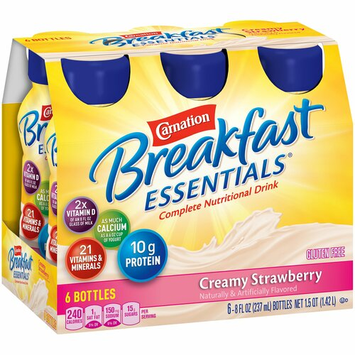 Carnation Breakfast Essentials Oral Supplement Nestle Healthcare Nutrition