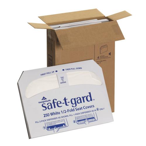 Safe-T-Gard Toilet Seat Cover Georgia Pacific 47052