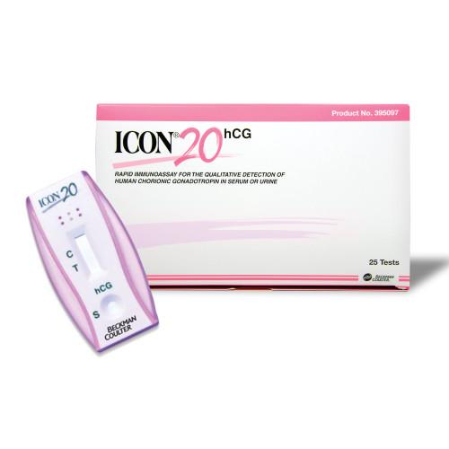 Icon 20 hCG Rapid Test Kit Hemocue 395097A