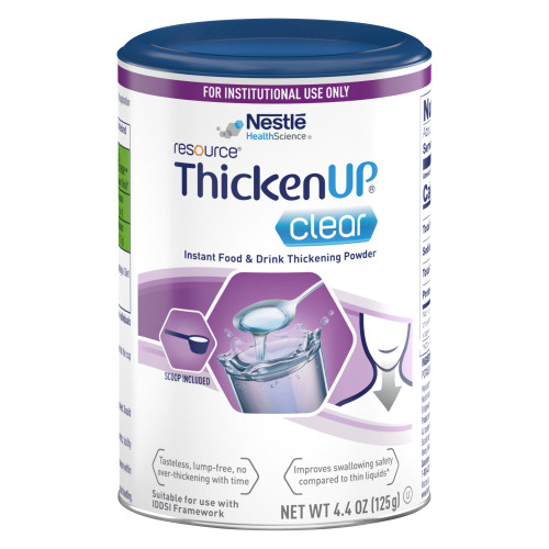 Resource Thickenup Clear Food and Beverage Thickener Nestle Healthcare Nutrition