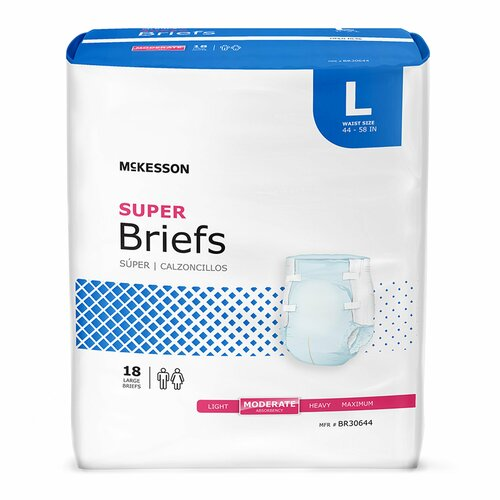 McKesson Super Incontinence Brief McKesson Brand BR30644