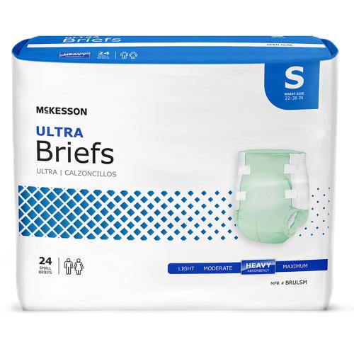 McKesson Ultra Incontinence Brief McKesson Brand BRUL