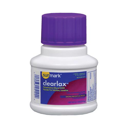 sunmark clearlax Laxative McKesson Brand 49348014370