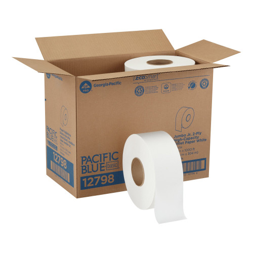 Pacific Blue Basic Toilet Tissue Georgia Pacific 12798