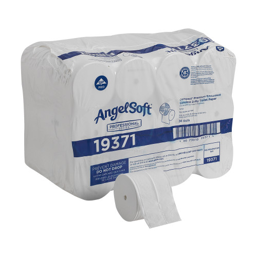Angel Soft Professional Series Compact Toilet Tissue Georgia Pacific 19371
