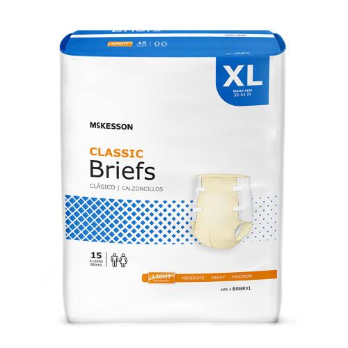 McKesson Classic Incontinence Brief McKesson Brand BRBR