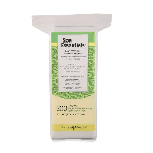 Spa Essentials Esthetic Wipe Graham Medical Products 52509