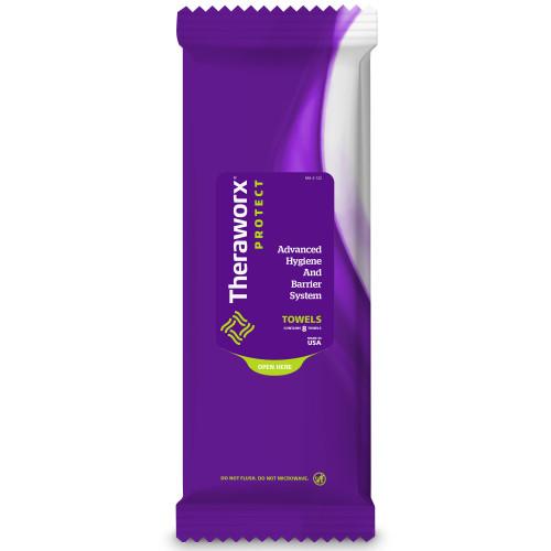Theraworx Protect Advanced Hygiene Barrier System Rinse-Free Bath Wipe Avadim
