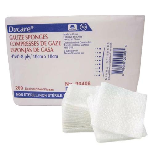Ducare USP Type VII Gauze Sponge Derma Sciences 90408
