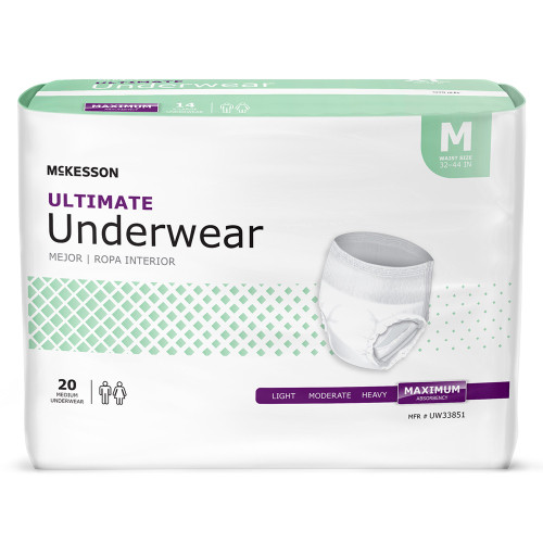 McKesson Ultimate Absorbent Underwear McKesson Brand UW3385