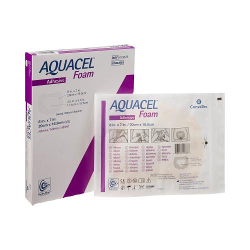 Aquacel Silicone Foam Dressing Convatec 420626