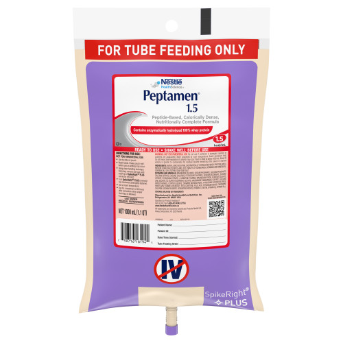 Peptamen 1.5 Tube Feeding Formula Nestle Healthcare Nutrition 10798716281949