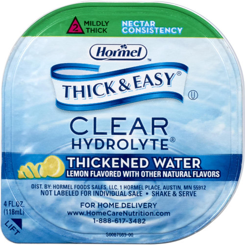 Thick & Easy Hydrolyte Thickened Water Hormel Food Sales 23061