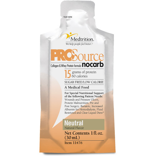 ProSource NoCarb Protein Supplement Medtrition/National Nutrition 11476