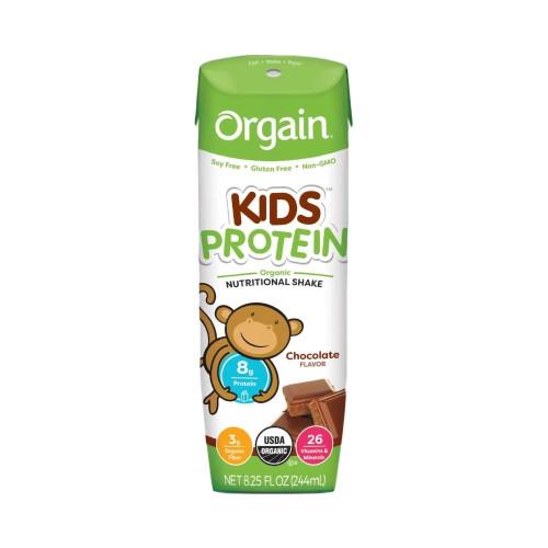Orgain Kids Protein Organic Nutritional Shake Pediatric Oral Supplement Orgain Inc