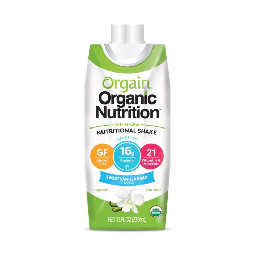 Orgain Organic Nutritional Shake Oral Supplement Orgain Inc