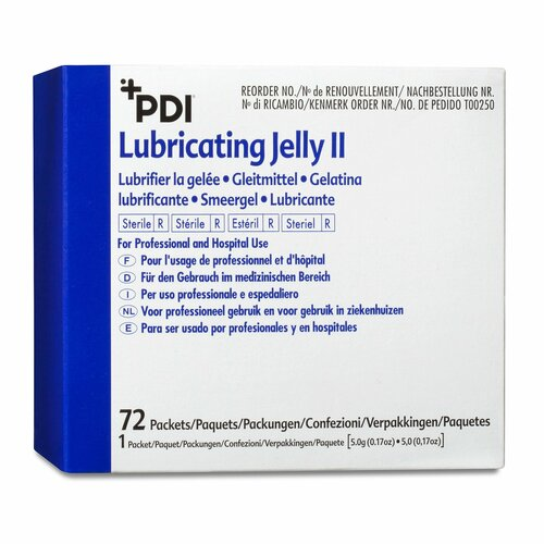 PDI Lubricating Jelly II Lubricating Jelly Professional Disposables T00250