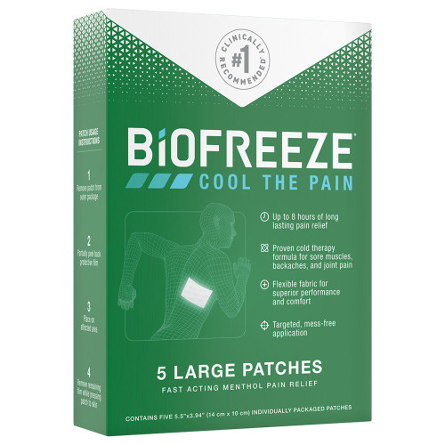 Biofreeze Topical Pain Relief Performance Health 14672