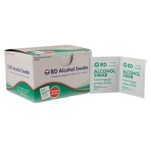 BD Alcohol Prep Pad Becton Dickinson 326895
