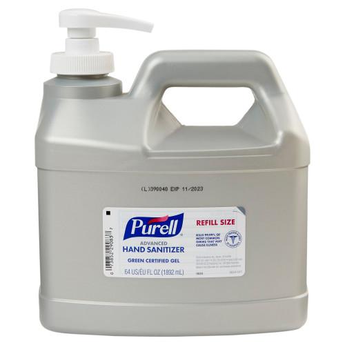 Purell Advanced Green Certified Hand Sanitizer GOJO 9684-04