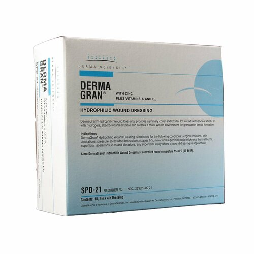 Dermagran B Impregnated Dressing Derma Sciences SPD21