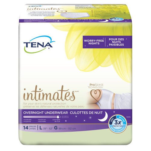 TENA Overnight Absorbent Underwear Essity HMS North America Inc 54352