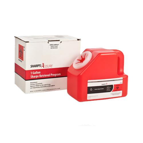 Sharps Assure Mailback Sharps Container Post Medical SA1G-18