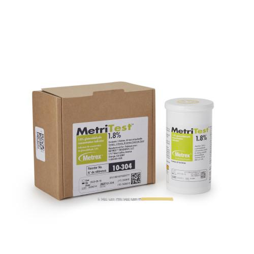 MetriTest Glutaraldehyde Concentration Indicator Metrex Research 10-304