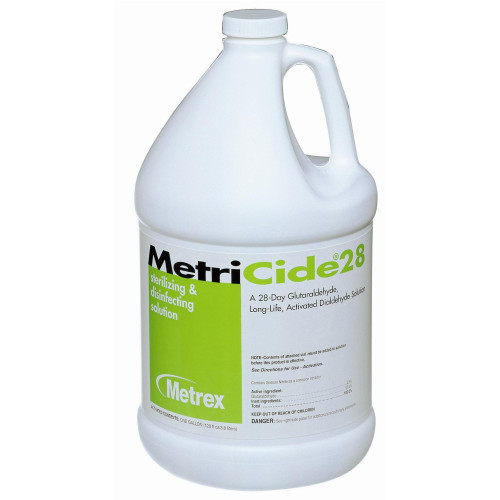 MetriCide 28 Glutaraldehyde High-Level Disinfectant Metrex Research 10-2800