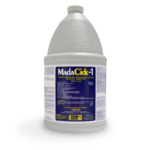 MadaCide-1 Surface Disinfectant Cleaner Mada Medical Products 7009