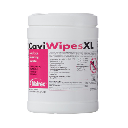CaviWipes Surface Disinfectant Metrex Research 13-1150