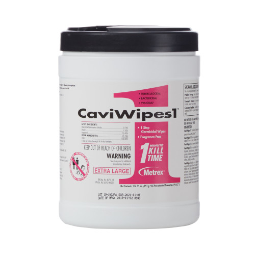 CaviWipes1 Surface Disinfectant Metrex Research 13-5150