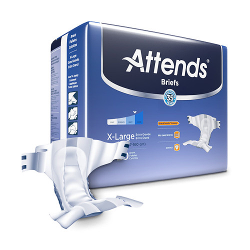 Attends Incontinence Brief Attends Healthcare Products DDABRBX