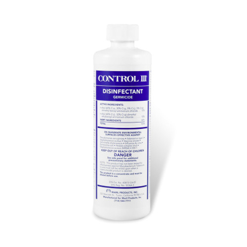 Control III Surface Disinfectant Cleaner Maril Products C3/DISP/12