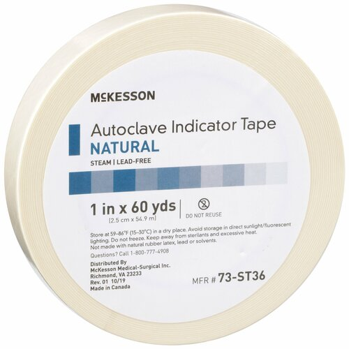 McKesson Steam Indicator Tape McKesson Brand 73-ST36