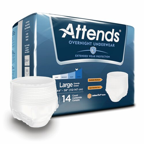 Attends Discreet Absorbent Underwear Attends Healthcare Products APPNT