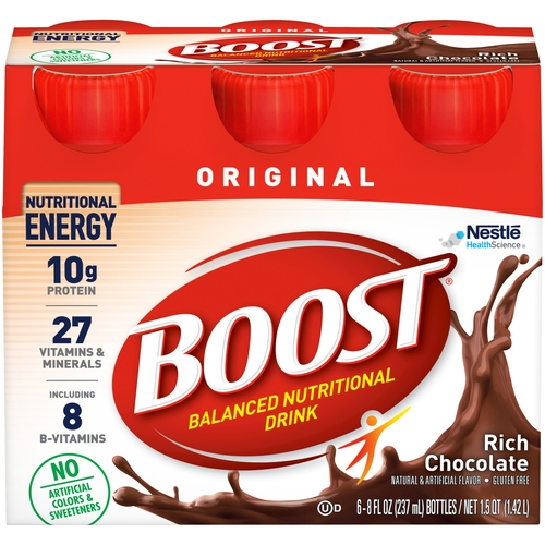 Boost Original Oral Supplement Nestle Healthcare Nutrition