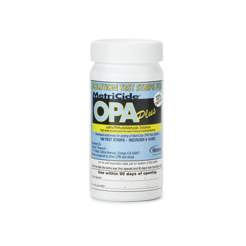 MetriCide OPA Plus OPA Concentration Indicator Metrex Research 10-602