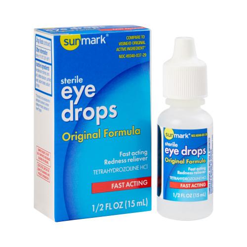 sunmark Irritated Eye Relief McKesson Brand 49348003729
