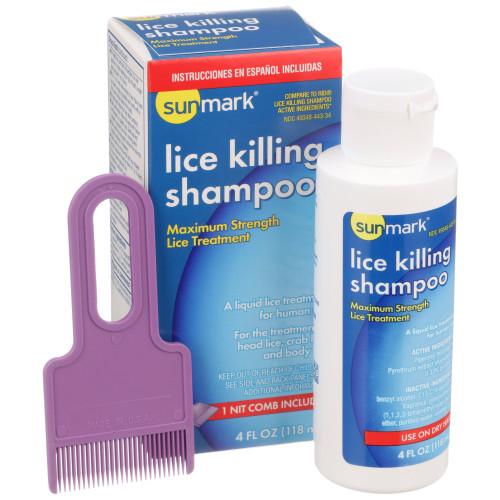 sunmark Lice Shampoo McKesson Brand 49348044334