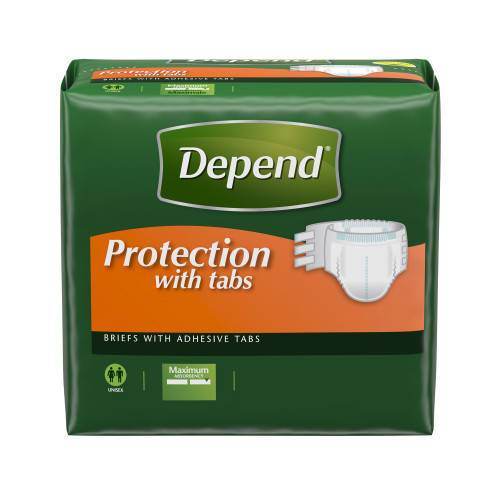 Depend Incontinence Brief Kimberly Clark 35458