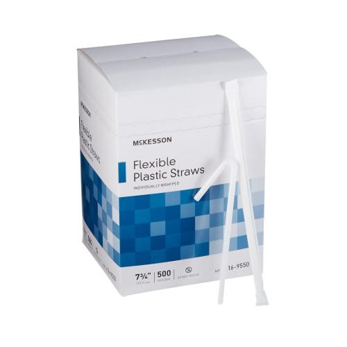McKesson Flexible Drinking Straw McKesson Brand 16-9550