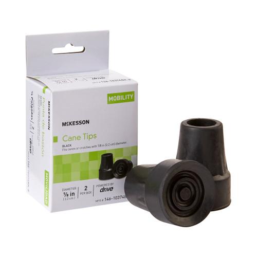 McKesson Cane / Crutch Tip McKesson Brand 146-10374BK-8