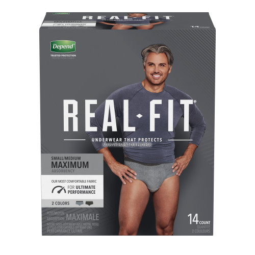 Depend Real Fit Absorbent Underwear Kimberly Clark 50982
