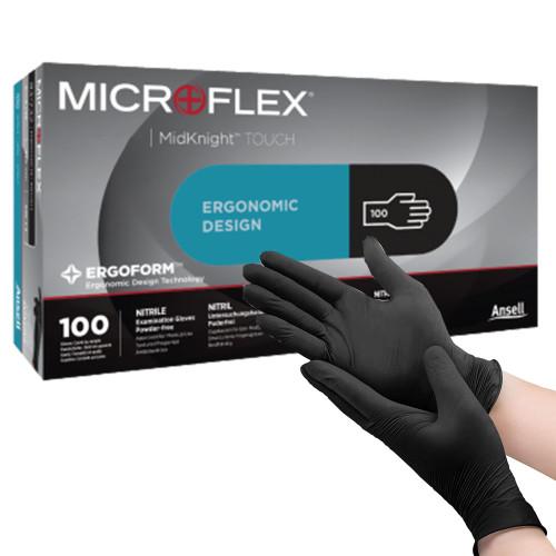 MICROFLEXMidKnight Touch 93-734 Exam Glove Microflex Medical 93732080