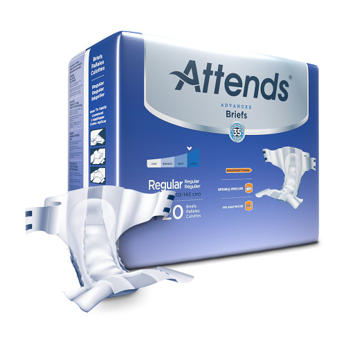 Attends Advanced Incontinence Brief Attends Healthcare Products DDC