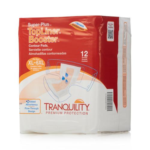 TopLiner Booster Contours Incontinence Booster Pad Principle Business Enterprises 3096