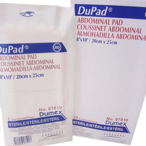 DuPad Abdominal Pad Derma Sciences 87810