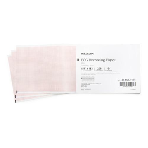 McKesson Diagnostic Recording Paper McKesson Brand 26-036869-001
